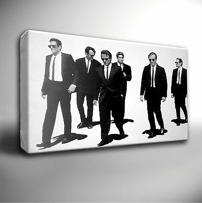 RESERVOIR DOGS FILM - GICLEE CANVAS WALL ART PRINT *Choose your size