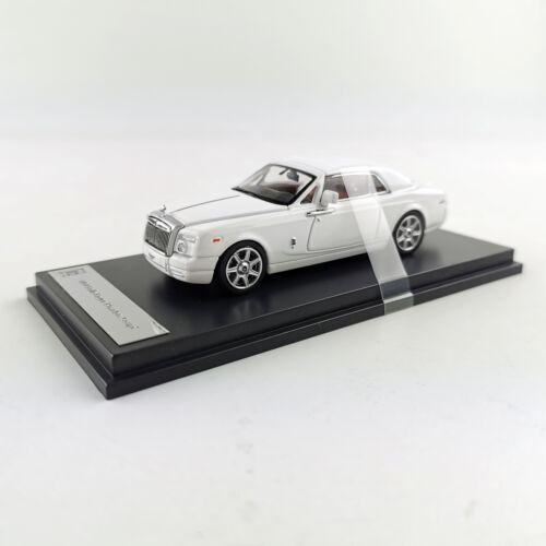 Original 1:64 Rolls-Royce Phantom Coupe White Diecast Car Model Collections