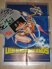 Liebe im Raumschiff Venus 12 FOTOS + Plakat SEX BUSEN  SCIFI Cinderella 2000