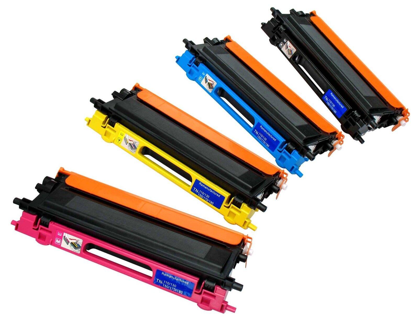 Set of 4 Toner Cartridges Non-OEM Alternative For Xerox Phaser 6280 - BCMY