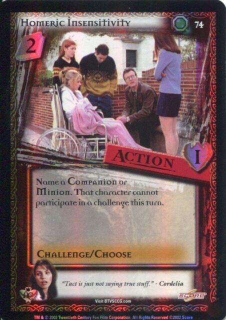 Acid Buffy CCG TCG Angels Curse Unlimited Edition Card #57 Tattoo Remover
