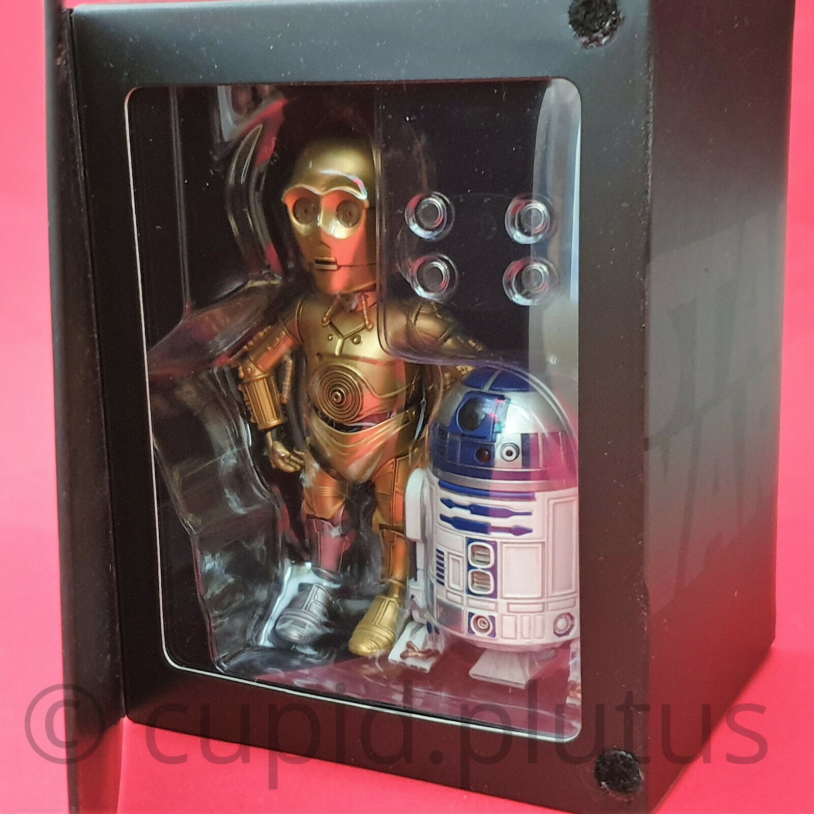 Herocross Stern Wars HMFkomfortabel35;024 C-3PO & R2-D2 Hybrid Metal Wirkung Figure Set (NEU)