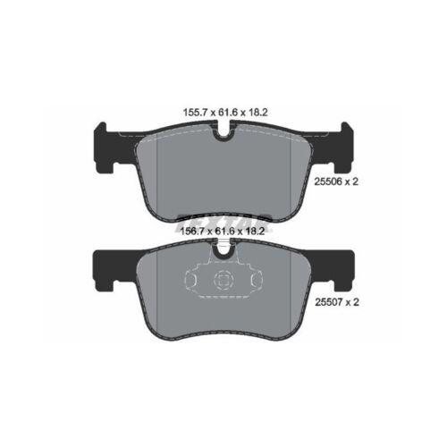plaquette de frein avant BMW f20 118 120 f30 318 320 f32 Textar disques de Frein