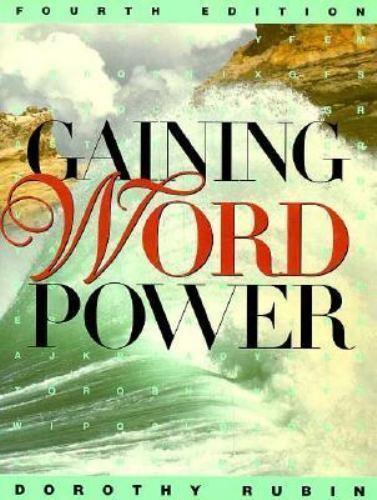 Gaining Word Power [Aug 09, 1996] Rubin, Dorothy