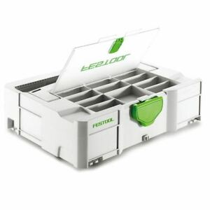 Festool Systainer T-Loc Df Sys 1 TL Df 497851 Avec Couvercle Compartiment