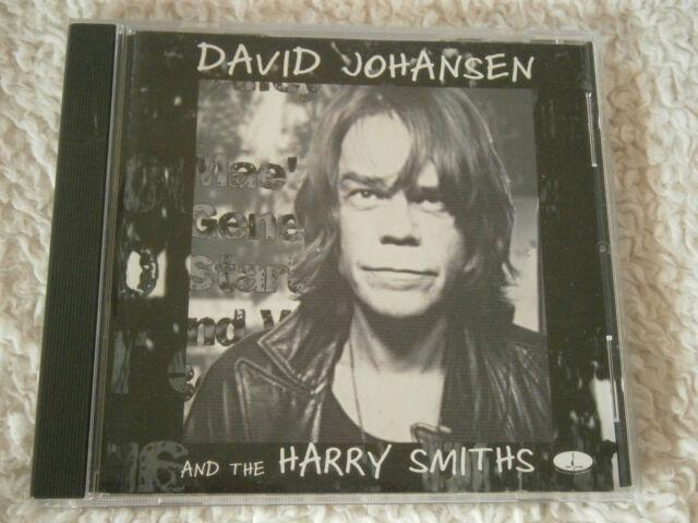 David Johansen - & The Harry Smiths (2001 UK 13-track CD, VG Disc, New Case)