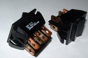 10-x-ARROW-DPTD-encendido-apagado-mom-Interruptor-Oscilante-2607-11e-B-10a