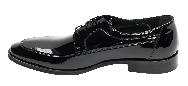 Lackleder Herren Herren Lackleder Schuhe Muga Gr.44 Schwarz 2c1c1c