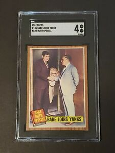 1962-Topps-136-Babe-Ruth-Joins-Yankees-SGC-4-Newly-Graded-amp-Labelled-PSA-BVS