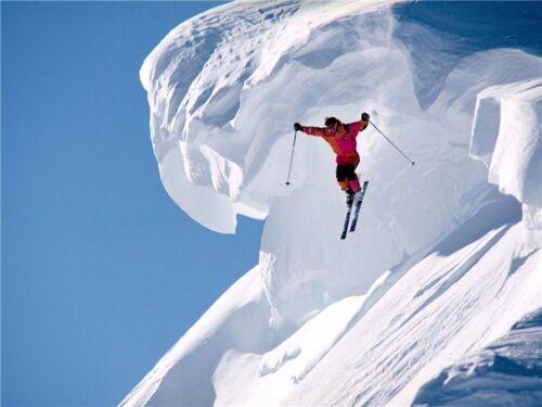 "Skiing Ski Jumping World Champion Winter Olympic Sport Poster 17/""x13/""  002"