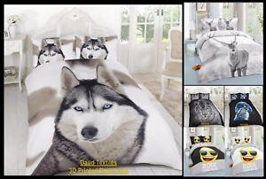 Funda-De-Edredon-Sets-3D-Animal-Print-Ropa-De-Cama-Individual-Doble-King-Size-Fundas-De-Almohada