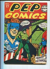 FLASHBACK Special Edition #16 Reprints Pep Comics #17 Alan Light  1974 CBX2