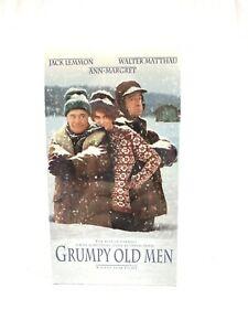 Grumpy-Old-Men-1993-VHS-Tape-Comedy-Jack-Lemmon-Walter-Matthau-NEW
