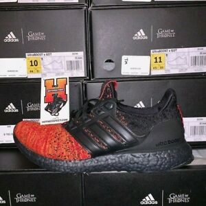 adidas Ultra Boost Game of Thrones House Targaryen Dragons Size 12