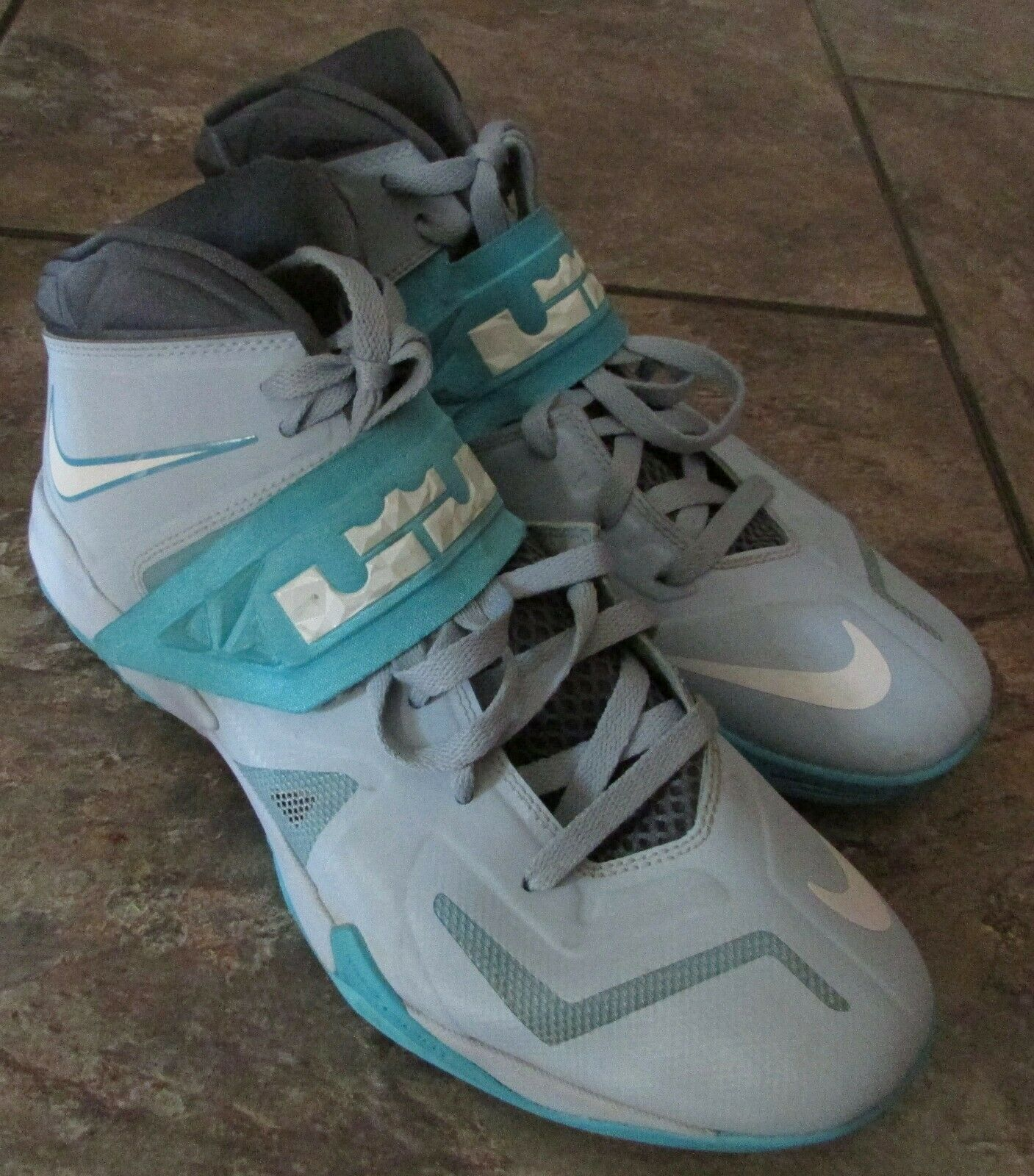 Nike Lebron Zoom Soldier 7 VII Light Armory bluee  599264-402 Sz 11