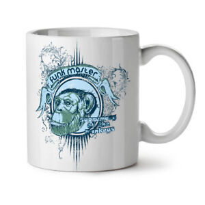 Funk Master Ape NEW White Tea Coffee Mug 11 oz | Wellcoda