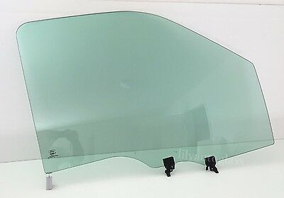 Fit 13-16 Ford F Series Driver Side Left Front Door Window Glass OEM W//Logo