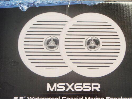 SPEAKERS MARINE STEREO JENSEN SPEAKERS WATERPROOF 6-1//2 BOAT YACHT  MSX65R PAIRS