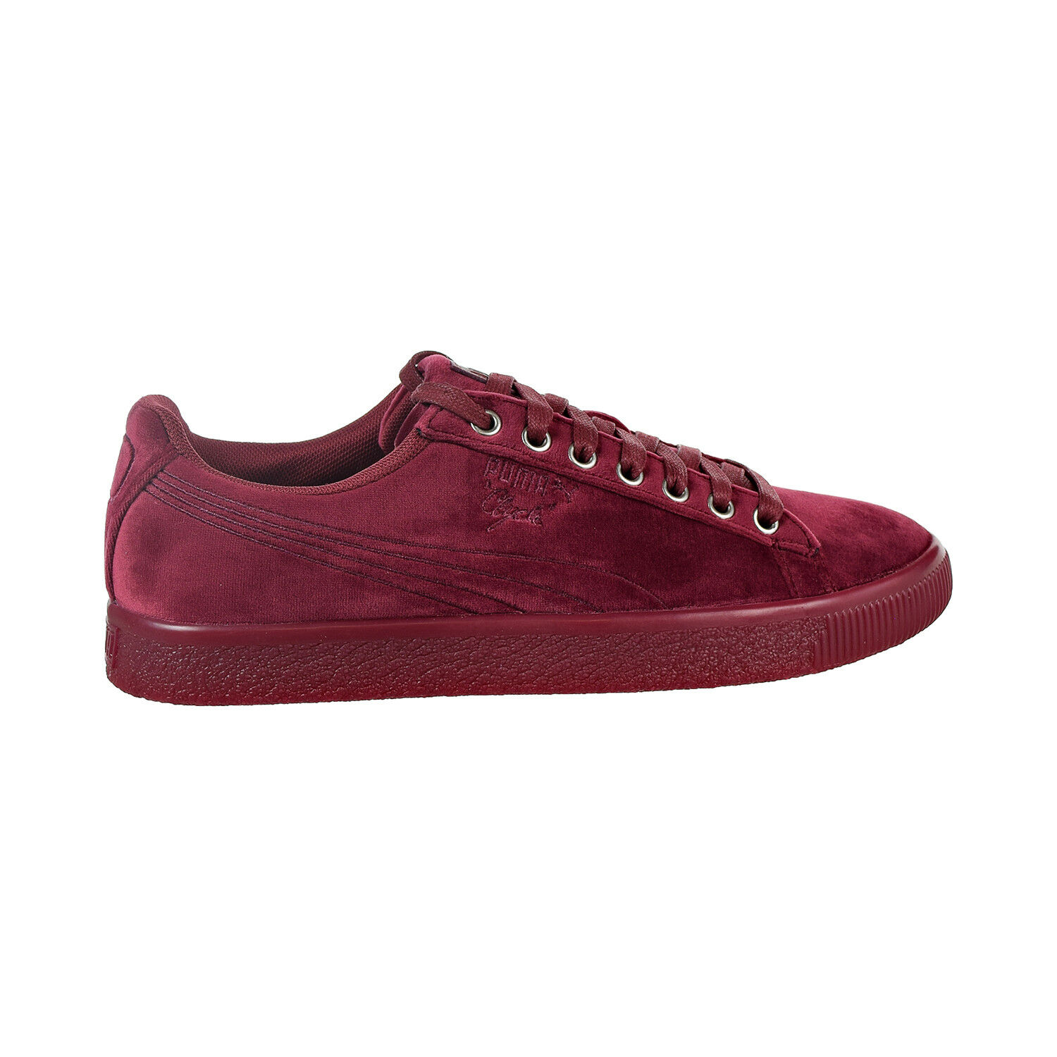 Puma Clyde Velour Ice Men's shoes Tibetan Red 366549-04
