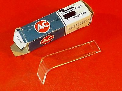 NOS GM 1973-1976 Chevrolet automatic shifter indicator dial lens 6497379 Malibu