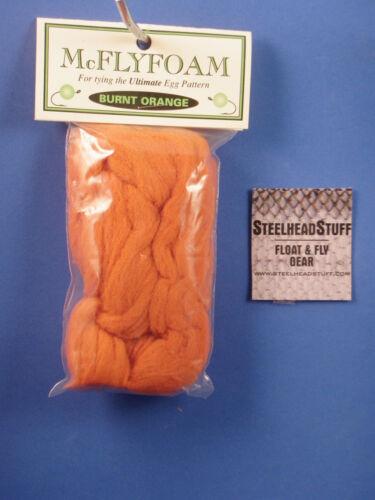 McFly Foam Burnt Orange//Buy 4 get a Globug tool FREE-$2.50 US Combine Ship