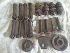 Vintage Parts Accessories Old F30 Farmall Tractor Bolts Tappets Pulley Steampunk