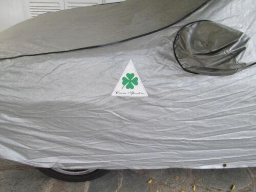 ALFA ROMEO CAR COVER PATCH VINYL UNIQUE NEW PROTOTYPE PAIR CUSTOM QV CLOVERLEAF