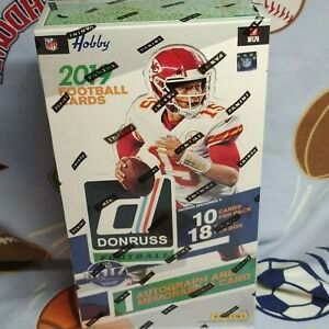 2019-Panini-Donruss-Football-Hobby-Box-1-Autograph-amp-Memorabilia-Card