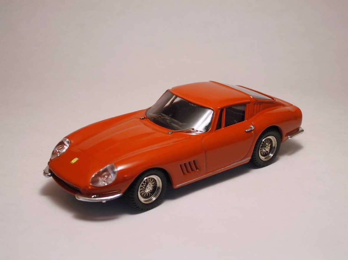 Ferrari 275 Gtb 4 Coupe' 1966 rojo 1 43 Model BEST MODELS