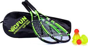 VICFUN-Speed-Badminton-Set-VF-100-Federballset