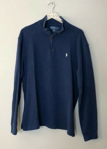 Polo by Ralph Lauren Navy Men's Popover Sweater |