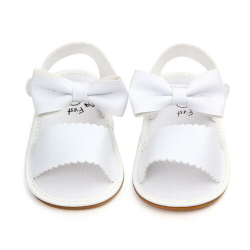 Baby Girl Sandal Sandles Bowknot Toddler Soft Crib Infant Prewalker Summer Shoes