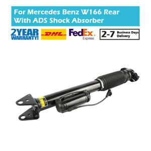 Rear L/R Air Shock Absorber Fit Mercedes GLE ML 250 350 400 500 4-matic W166 ADS
