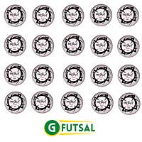 20 X GFUTSAL TOTALSALA 400 PRO - FUTSAL MATCH BALL - SIZE 4 (2017 design)