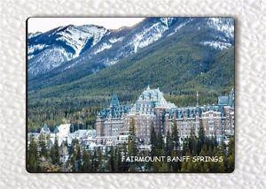 Canada Travel Souvenir Flexible Fridge Magnet BANFF NATIONAL PARK