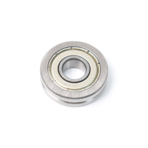 10pcs A1001-ZZ V Groove Guide Pulley Sheave Sealed Rail Ball Bearing