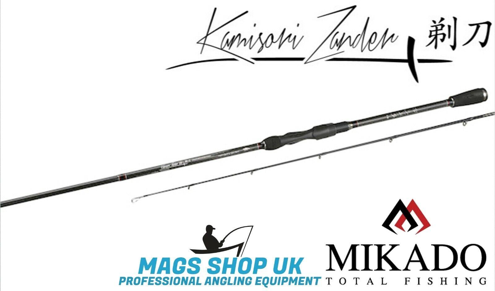 Mikado  Kamisori Señuelos  caña de pesCoche, Eva, 2 secciones diferentes longitudes, claras.