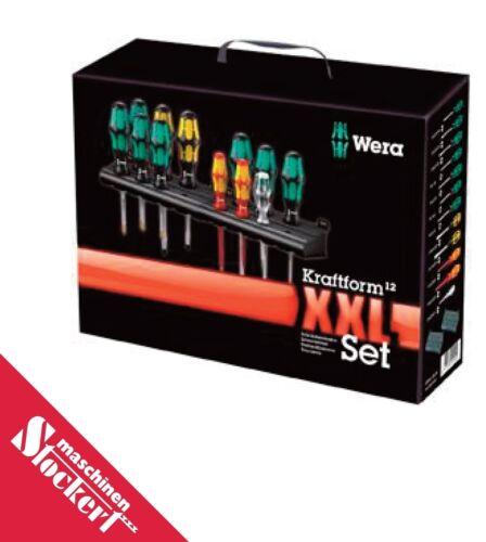 Wera jeu tournevis Kraftform xxl 12 tlg. avec 2 racks 05051010001