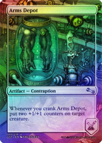 Arms Depot FOIL Unstable NM Artifact Uncommon MAGIC GATHERING CARD ABUGames