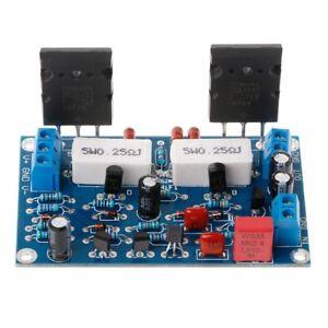 Details about 2SC5200+2SA1943 35V Dual DC 100W Mono Channel HIFI Audio  After Class Amplifier
