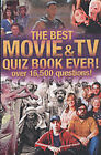 The Biggest Movie and TV Quiz Book Ever! by The Puzzle House, Jeremy Sims (Paperback, 2002)