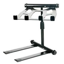 Pyle PLPTS55 - Portable Folding Tabletop DJ Gear Stand for Laptop Mixer or