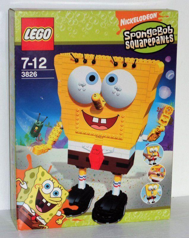 Lego SpongeBob  Build-A-Bob 3826 neu nouveau  remise
