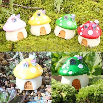 4X5cm Mini House Dollhouse Miniature Landscape Resin Ornaments Fairy Decor