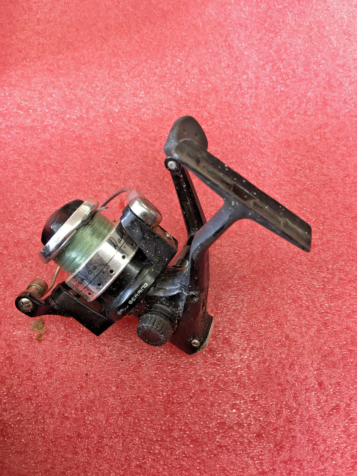 FT4 RARE  Dave Genz Ice Team clam GSR 10S spinning fishing reel smooth operation