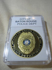 CITY OF BATON ROUGE Police Dept. Challenge Coin