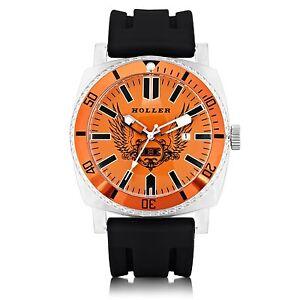 Holler-Chocolate-City-Orange-Mens-Watch-HLW2196-2-2196-2-Brand-New-in-Box