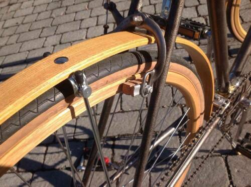 CB ITALIA pair n.°2 BRAKE CORK PADS 40mm.