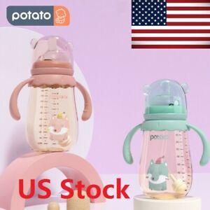 POTATO Baby Bottles Anti Colic Toddlers Bottles PPSU Bottle (300ml/10oz) USA