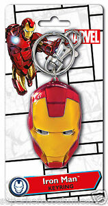 Avengers-Iron-Man-3-Pewter-Key-Ring-Key-Chain-BRAND-NEW-67971